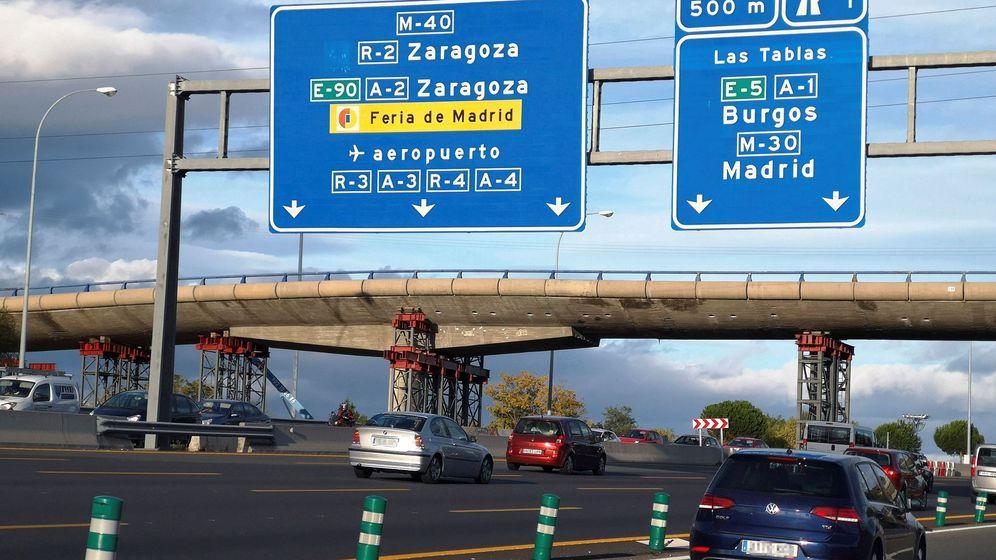 Foto: La M-40 es una de las vías urbanas que registra una mayor concentración de siniestralidad. (EFE)