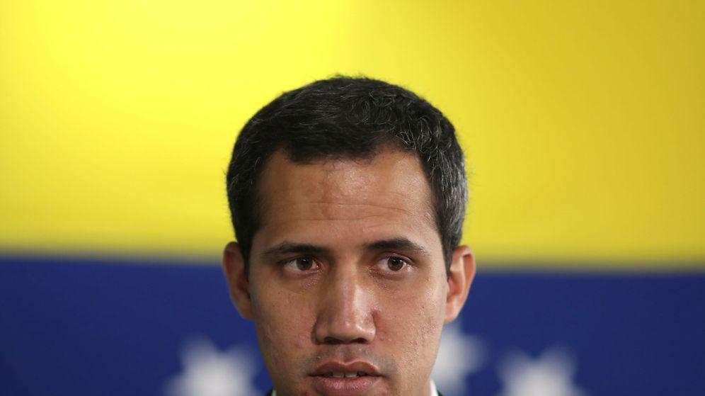 Foto: El autoproclamado presidente interino de Venezuela, Juan Guaidó. (Reuters)