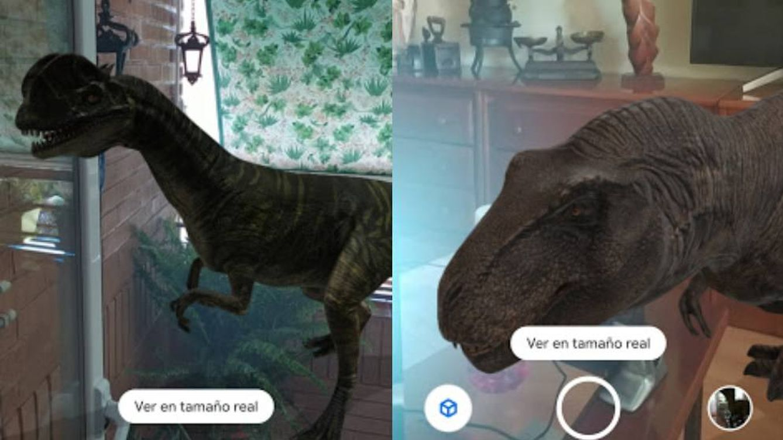 Así puedes ver los dinosaurios en 3D de Google en tu propia casa
