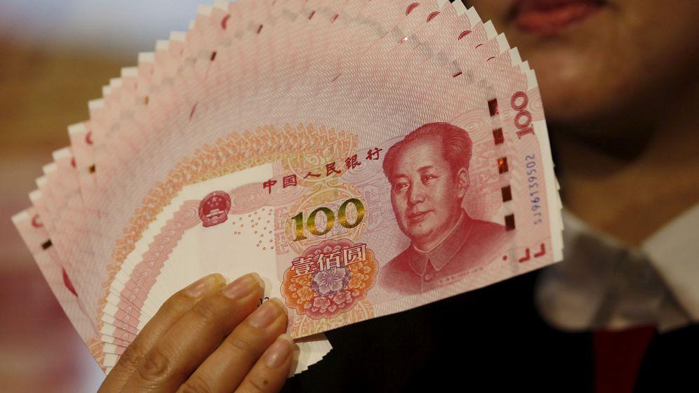 Foto: Billetes de renminbi (Reuters)
