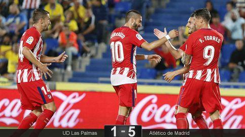 El Atlético sepulta cualquier tipo de duda con golazos a un flojísimo Las Palmas