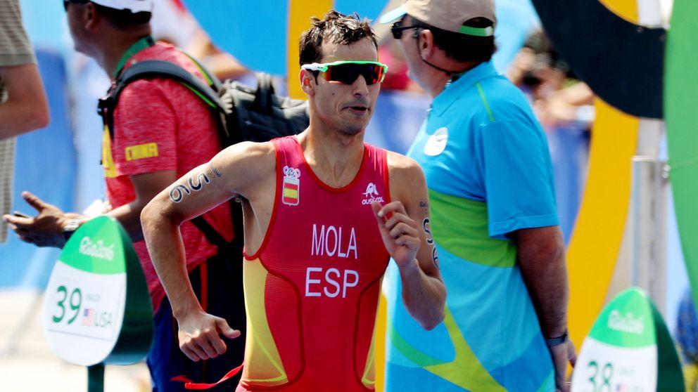 Mario Mola se lleva un diploma olímpico de los Juegos de Río