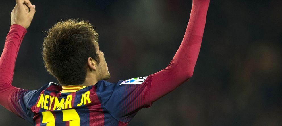 Foto: El jugador del Barcelona, Neymar Jr. (Efe)
