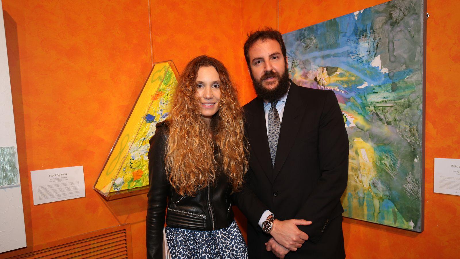 Foto: Borja Thyssen y Blanca Cuesta en Ávila, en una imagen de archivo (Gtres)