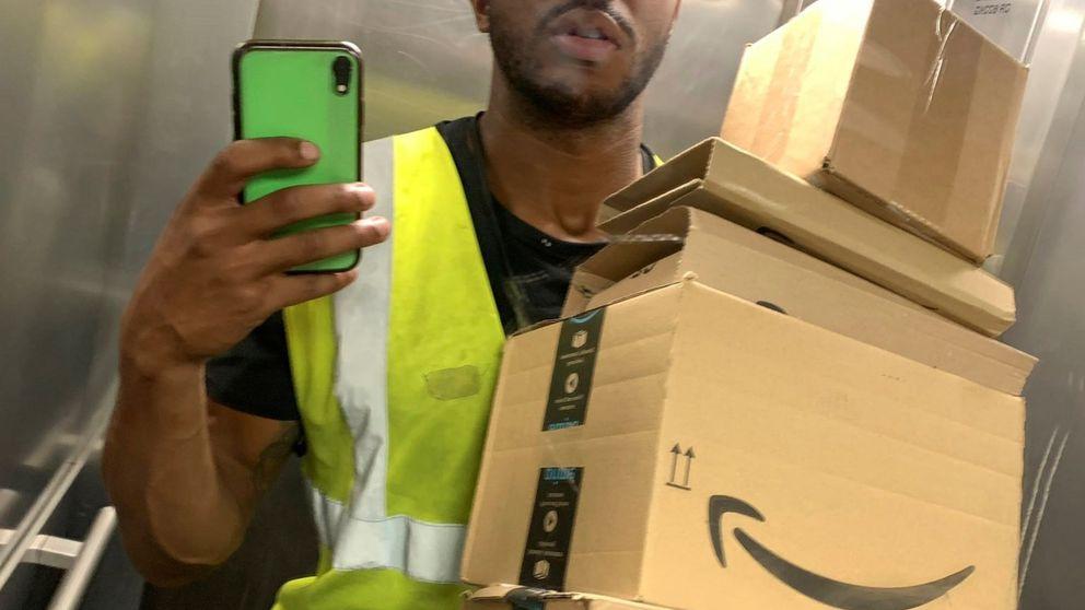 Necesitaba un trabajo: el repartidor de Amazon que sueña con Tokio 2021