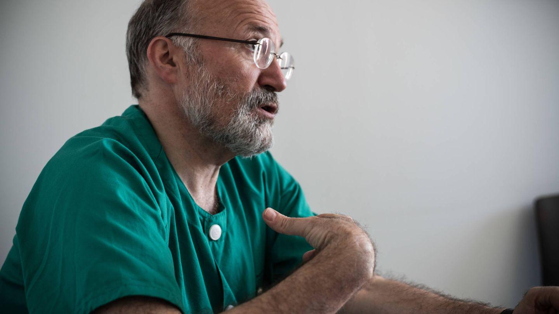 Gabriel Rubio, jefe del área de Psiquiatría del Hospital 12 de Octubre. (Foto: C.C.)