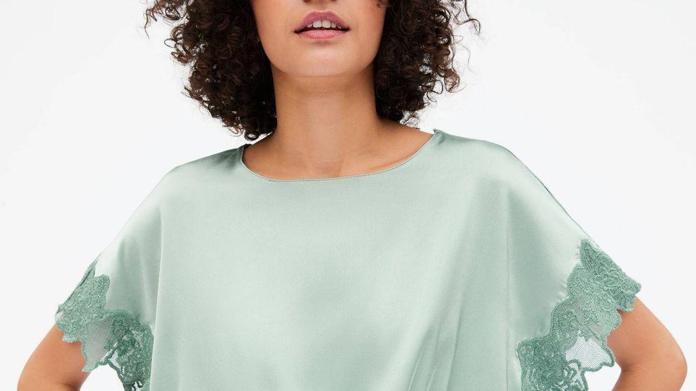 Zara tiene el vestido lencero que podrás usar ¡al fin! sin que se vea el sujetador