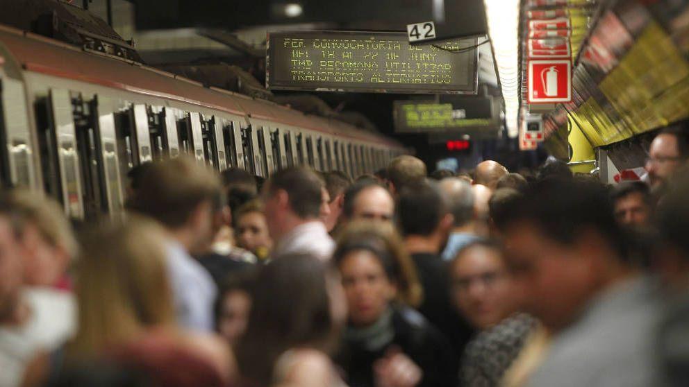 Detenida una menor por arrojar a otra joven a las vías del metro barcelonés