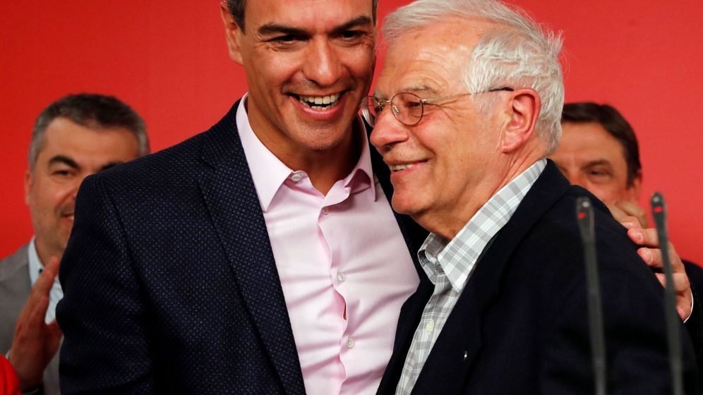 Foto: Pedro Sánchez y Josep Borrell. (Reuters)