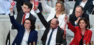 Post de El SPD dice sí a Merkel para resolver una encrucijada sin salidas favorables