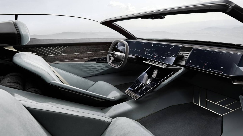 El techo se puede retirar en los dos modos. (Audi)