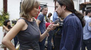 Pablo Iglesias y Tania Sánchez, un reencuentro por el cambio