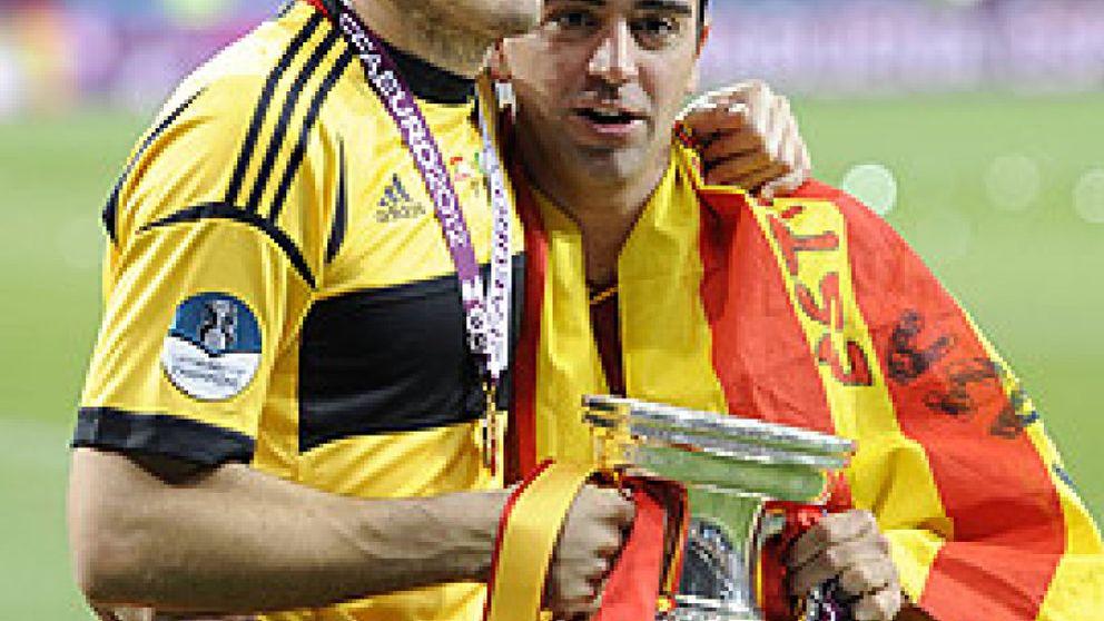 Casillas y Xavi, amigos, campeones y salvadores del fútbol recogen hoy el Príncipe de Asturias