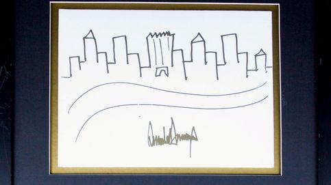 Trump también pinta... ¿qué ciudad ha elegido para inmortalizar?