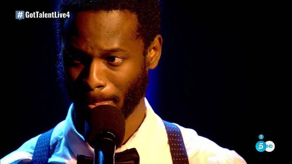 César Brandon, el poeta que conquistó 'Got Talent' en menos de tres minutos