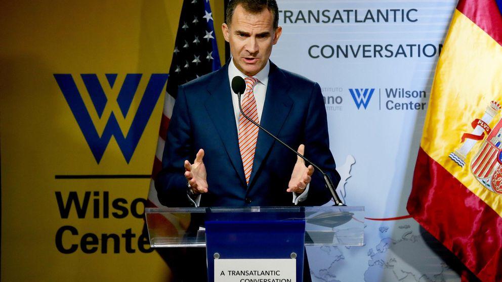 El Rey, a empresarios de USA: Pueden fiarse de España, resurie con fuerza