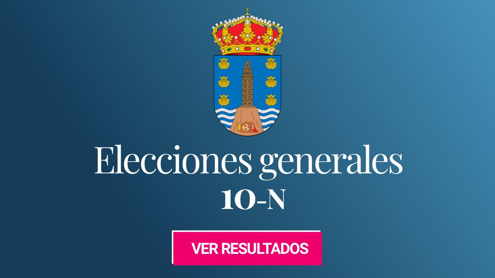 Foto: Elecciones generales 2019 en la provincia de A Coruña. (C.C./HansenBCN)