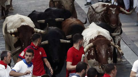 Cuarto encierro de San Fermín: la carrera más rápida con los toros de Fuente Ymbro