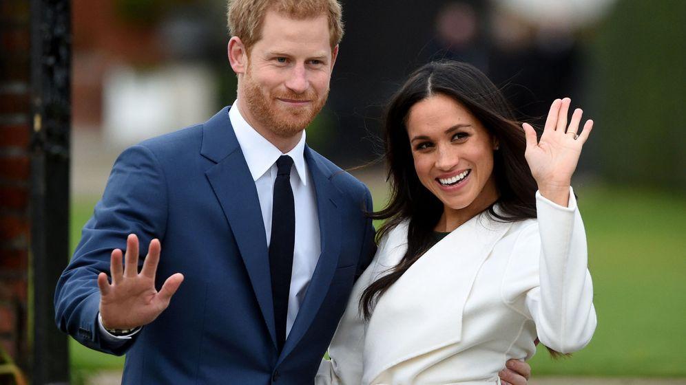 Foto: La pareja durante el anuncio de su compromiso. (EFE)