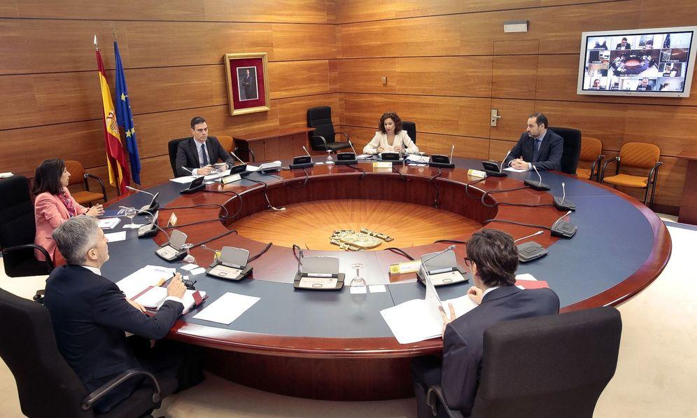 Foto: Consejo de Ministros celebrado este martes. (EFE)