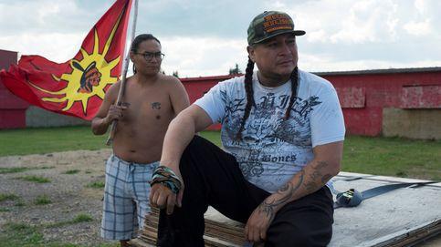 Los guerreros indios de Canadá luchan por su cultura