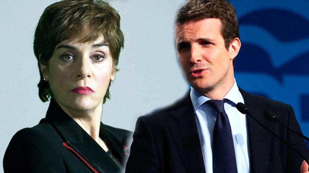 Anabel Alonso agita las redes con pullita sobre Antonio Machado a Pablo Casado