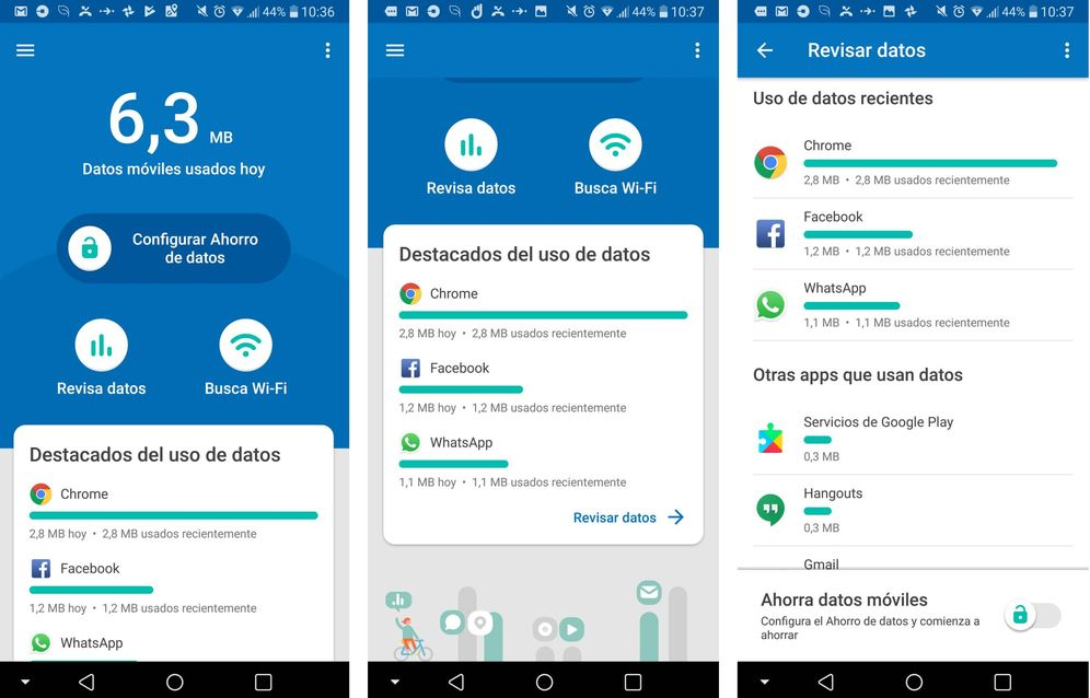 Foto:  Google Datally