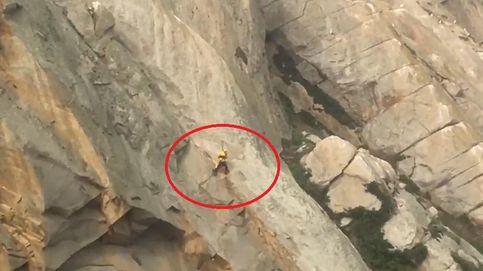 La propuesta de matrimonio más peligrosa: rescatado en un volcán por un helicóptero