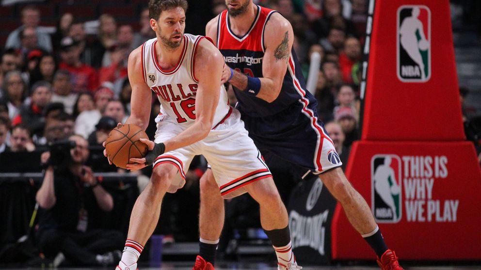 El 'doble doble' de Pau Gasol no evita la derrota de los Chicago Bulls