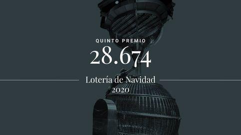 El 28.674, el número ganador del sexto quinto premio de la Lotería de Navidad