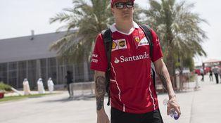 Kimi Raikkonen tiene la sartén de 2018, aunque no precisamente por el mango
