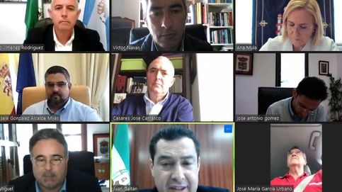 Críticas del PSOE al alcalde de Estepona por participar en una videollamada conduciendo