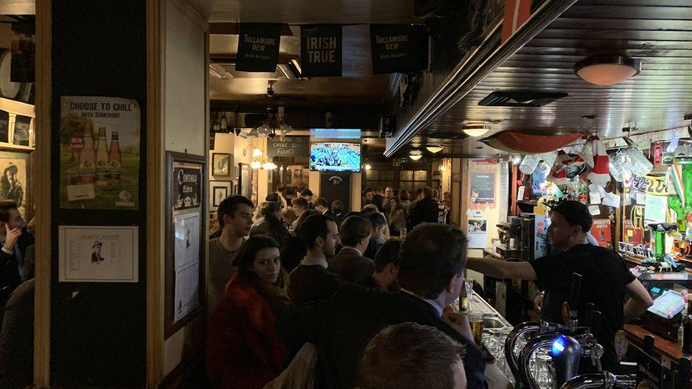 Historia del Brexit en tres pubs irlandeses del barrio europeo de Bruselas
