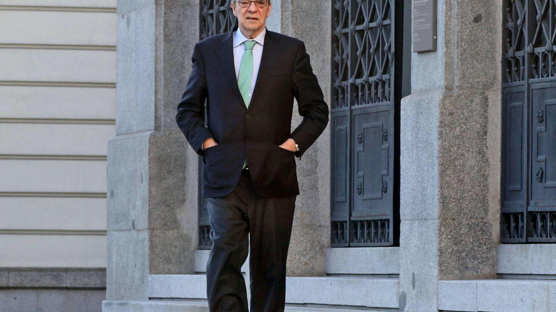 Cesar Alierta, el pasado mes de enero en Madrid. (Gtres)