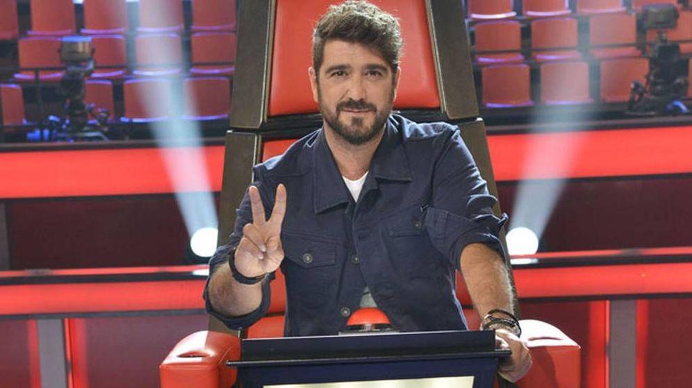 Foto: Antonio Orozco, el triunfador de la semana en audiencias.