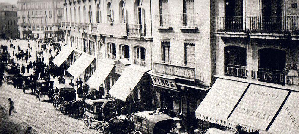 Foto: Imagen de la Carrera de San Jerónimo en 1860 (Fuenterrebollo)