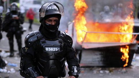 Por favor, ya: disturbios en Bogotá por la muerte de un hombre por brutalidad policial