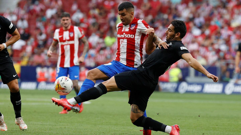 Ángel Correa anotó el tanto de la victoria ante el Elche. (Reuters)