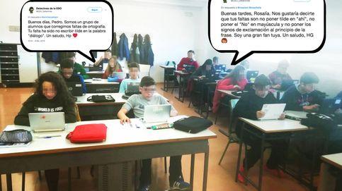 La policía ortográfica de la ESO que corrige a Abascal, Ramos y Pedro Sánchez en la red