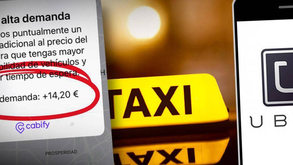 Cabify, esto es un atraco: ¿De verdad sale más barato usar Uber o Cabify que el taxi?