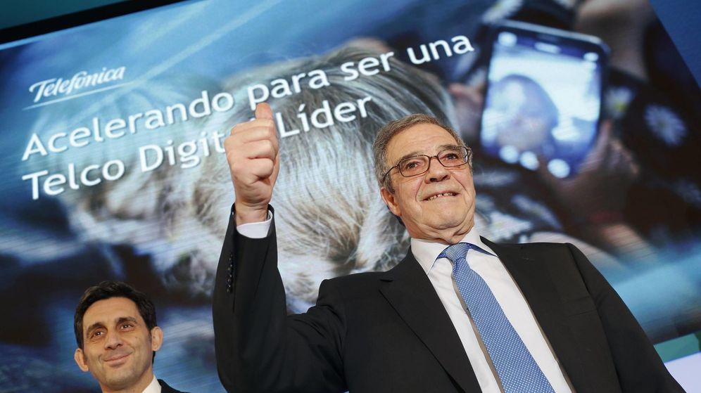 Foto: César Alierta, presidente de Telefónica (Fotografía: Reuters).