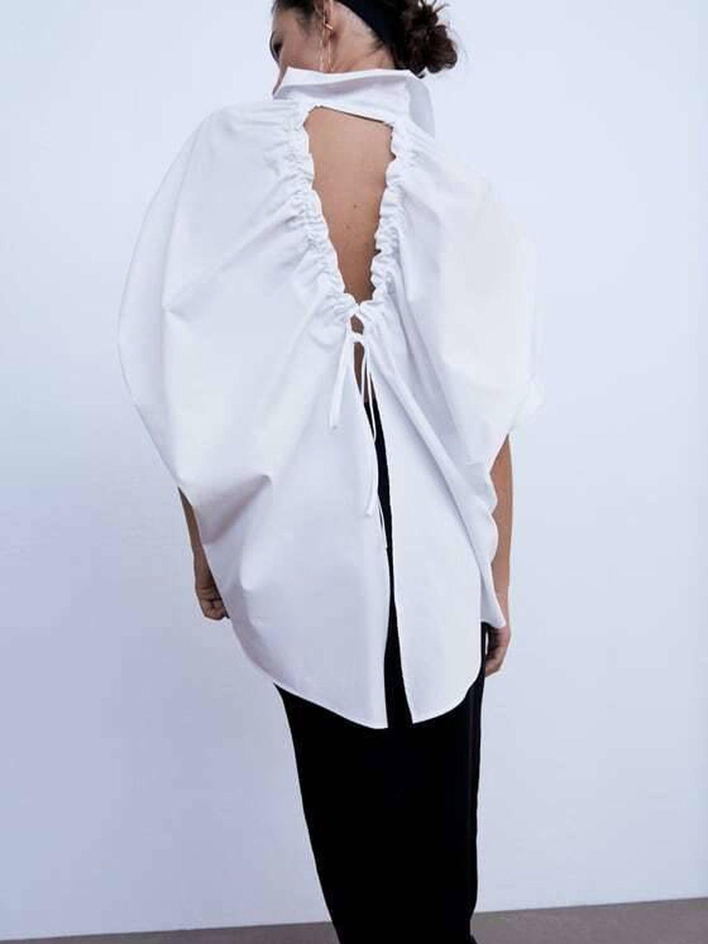 La camisa de Zara. (Cortesía)