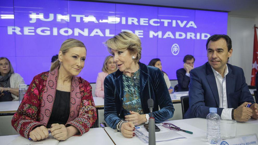 Aguirre y Cifuentes 'invitan' a Rita Barberá a renunciar a su aforamiento