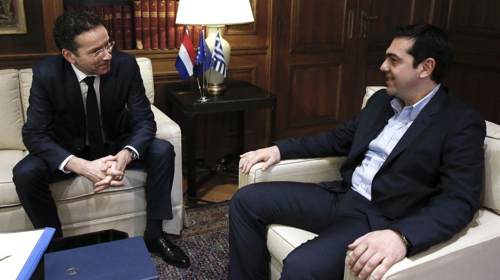 Foto: El presidente del Eurogrupo, Jeroen Dijsselbloem, se entrevistó este viernes con Alexis Tsipras en Atenas. (Gtres)
