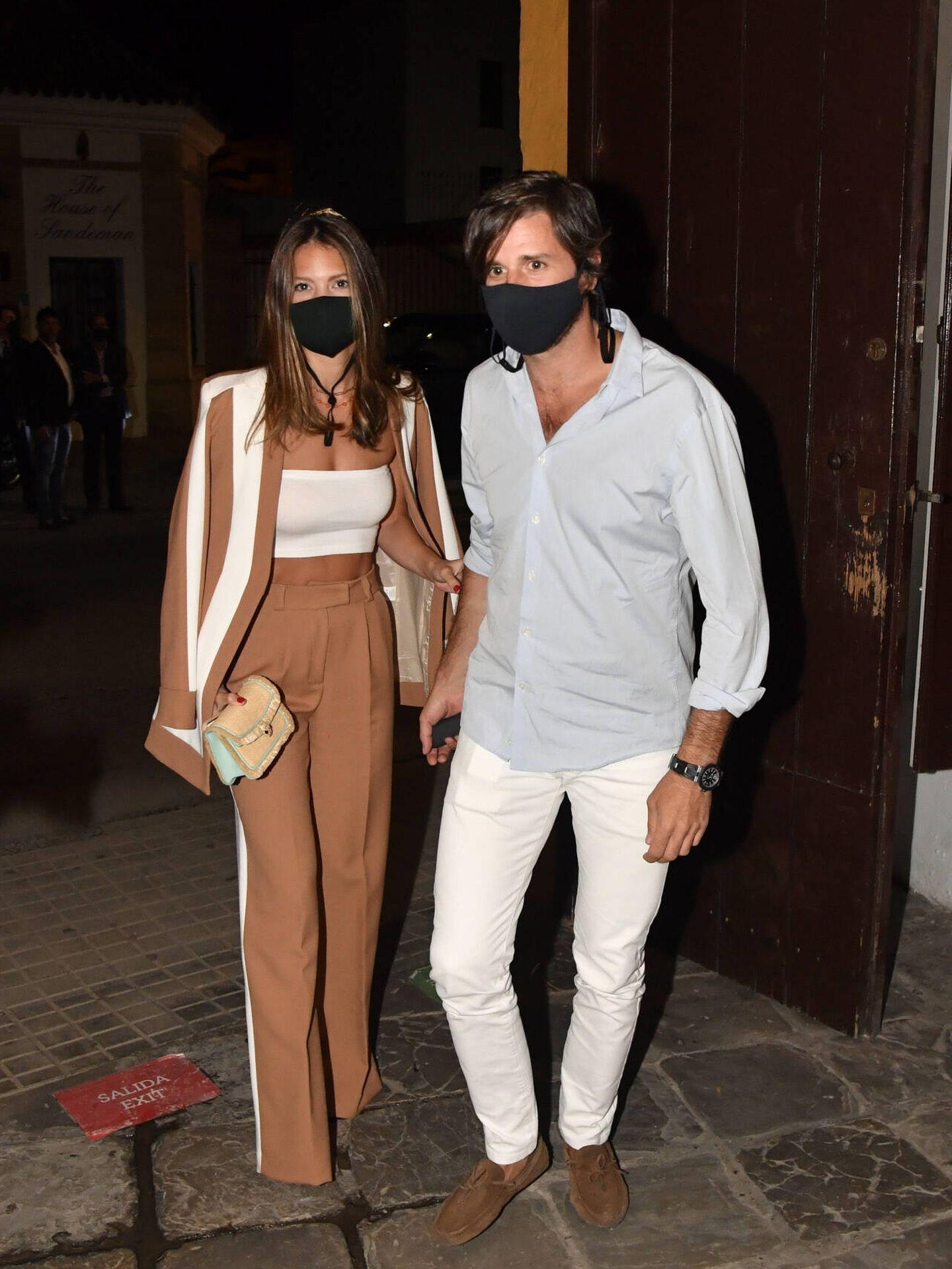 Álvaro Falcó e Isabelle Junot, en Jerez. (Gtres)