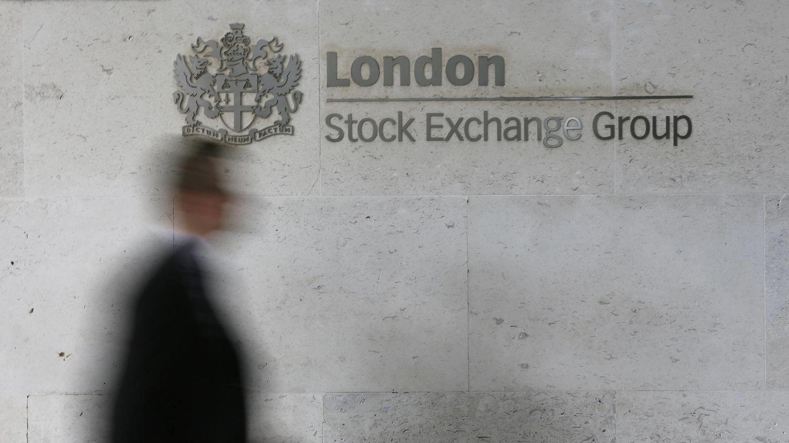 Foto: La bolsa de Londres celebra el triunfo de Cameron con los bancos desbocados