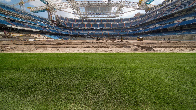 El Real Madrid vuelve al Bernabéu con poco público, pero igual de controlado