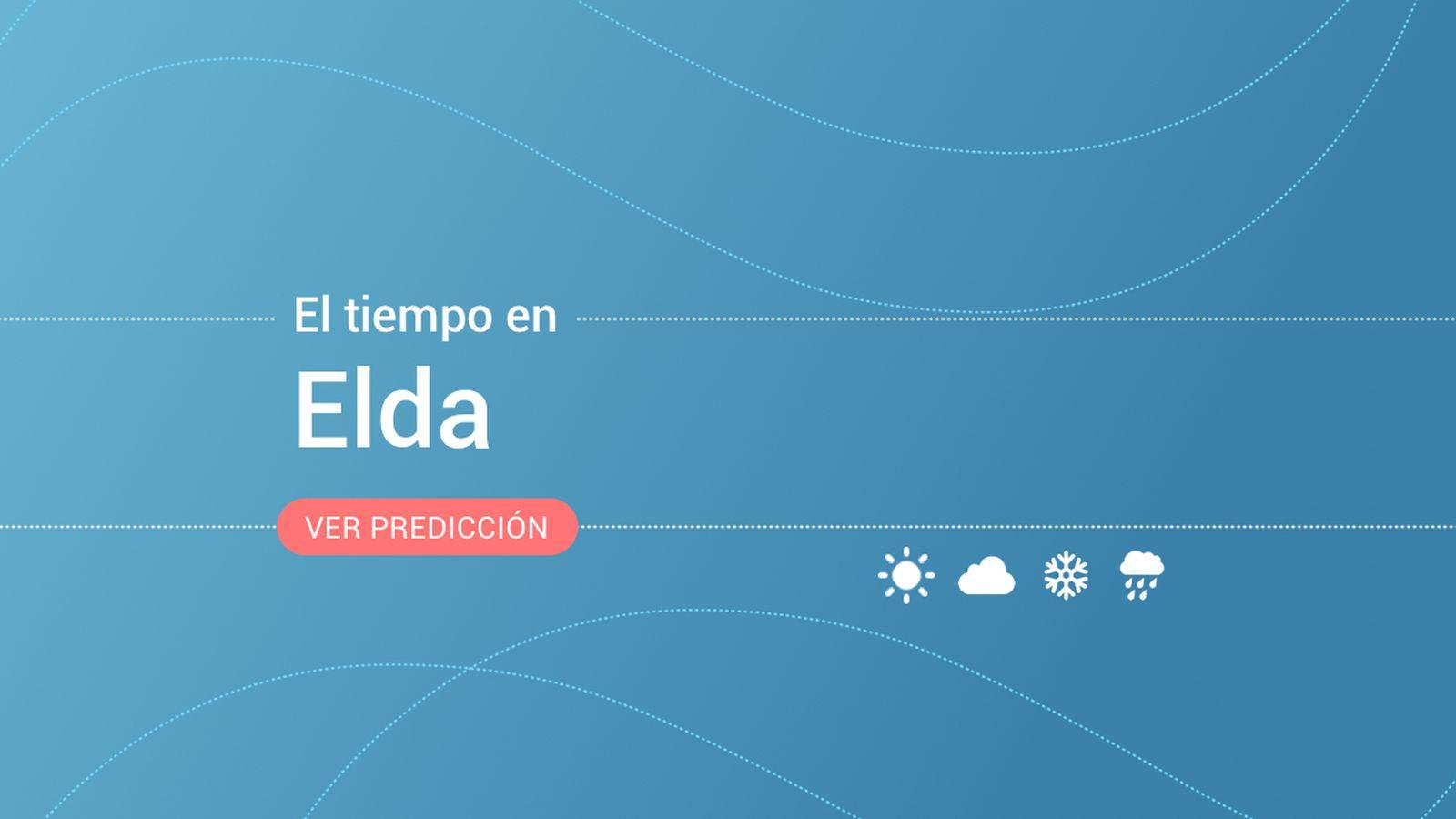Foto: El tiempo en Elda. (EC)