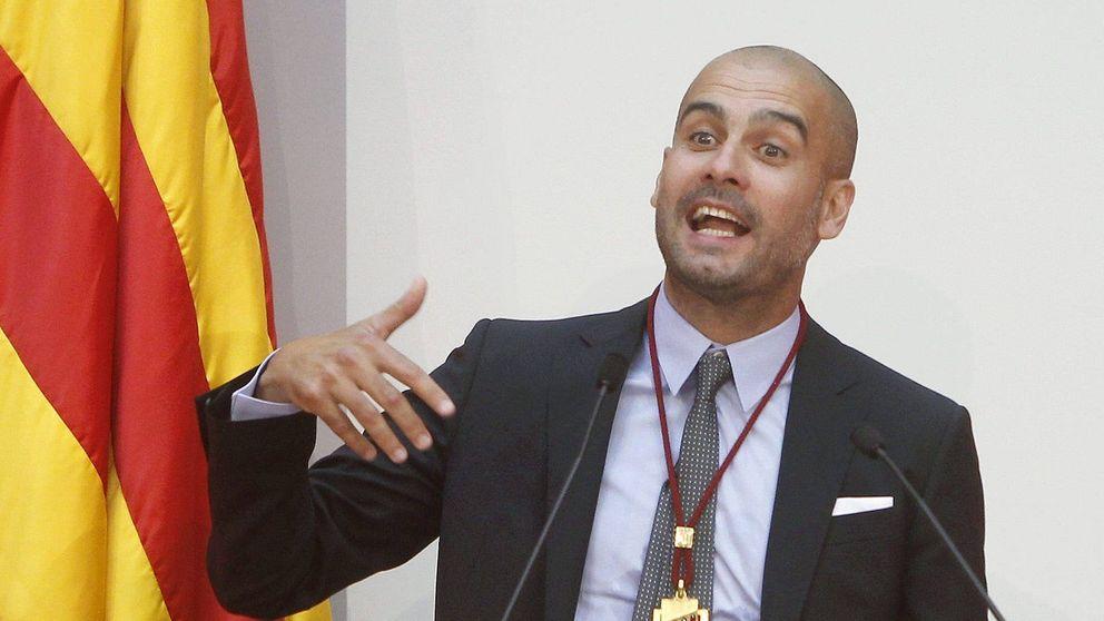 Apuesto a que eres español, le diría Vettel; No, soy catalán, le diría Pep