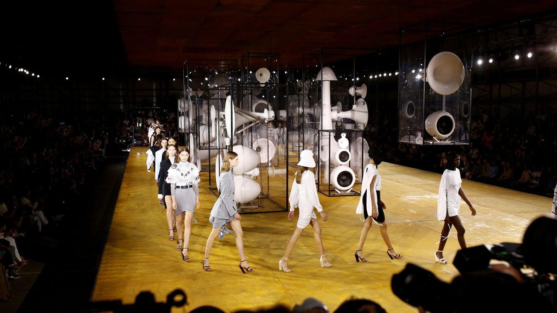 El desfile de Burberry en la London Fashion Week. (Reuters)